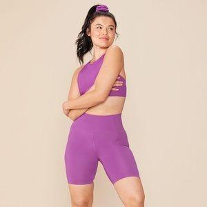 NWT Girlfriend Collective High Rise Bike Shorts